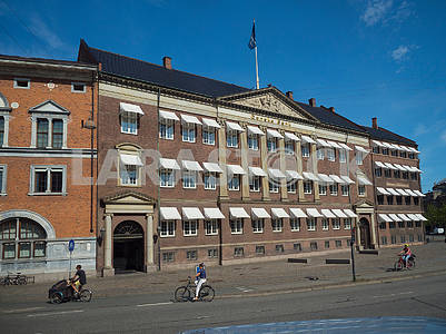 The building of the Danish bank