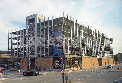 Здание многоэтажного гаража в Копенгагене