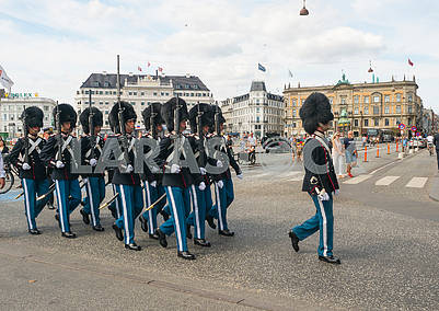 The Royal Guard in Copenhagen