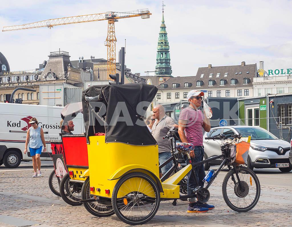 Велорикши в Копенгагене — Изображение 73480