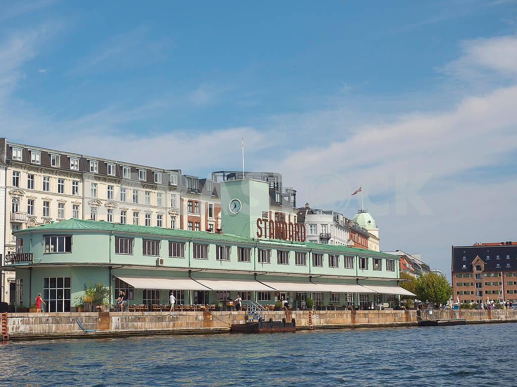 Ресторан на набережной в Копенгагене — Изображение 73501