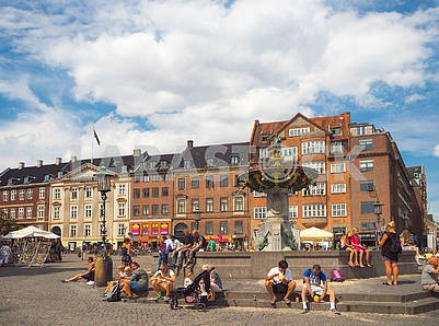 The Old Square in Copenhagen