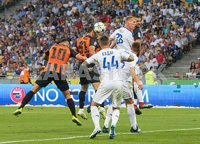 Dynamo Shakhtar match