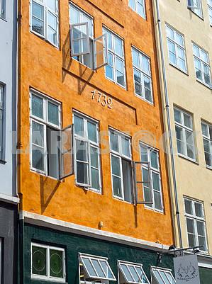 Фасад дома в Копенгагене