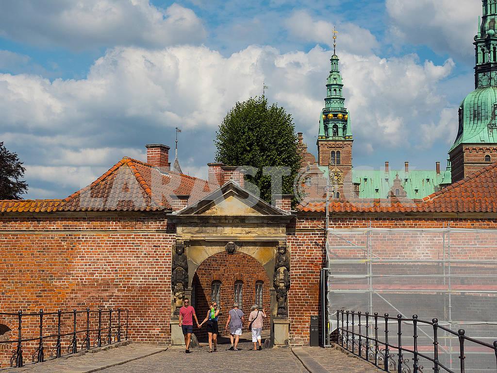 Вход в замок Росенборг, Дания — Изображение 73576