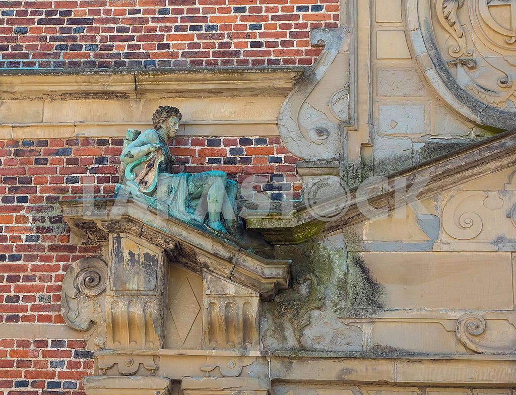 Фрагмент украшения замка Розенборг — Изображение 73578
