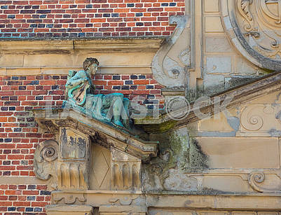 Detail of the decoration of the castle Rosenborg
