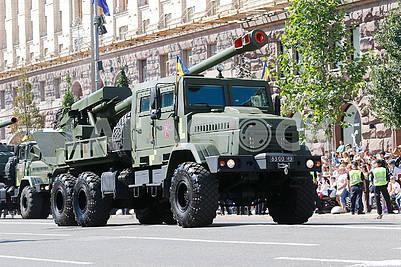 Bogdan's self-propelled howitzer