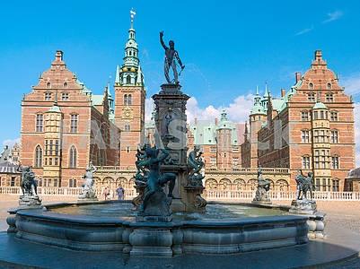 Замок Росенборг, фонтан