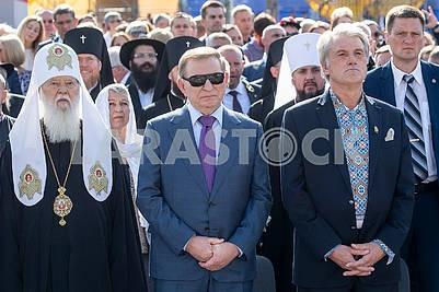 Filaret, Leonid Kuchma, Victor Yushchenko