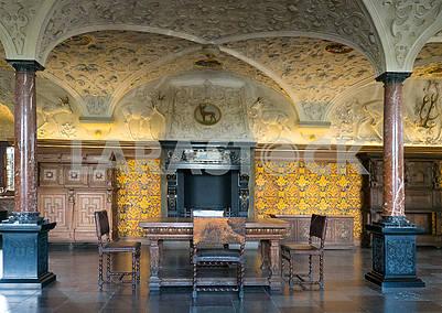 Каминный зал в замке Росенборг