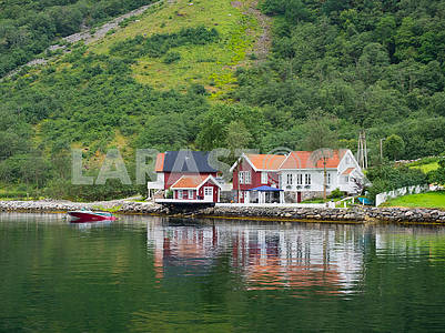 Laerdal village
