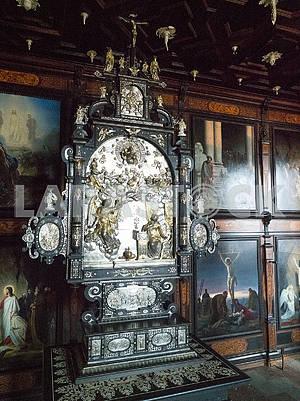 Интерьер замка Росенборг