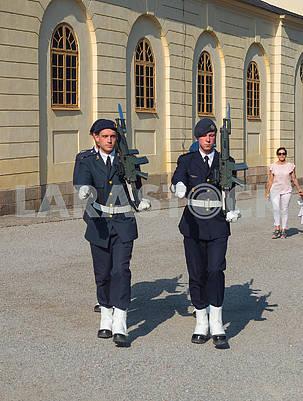 Royal Guard in Stockholm