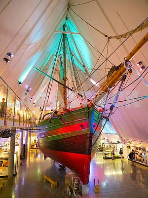 Ship Ioa in the Museum