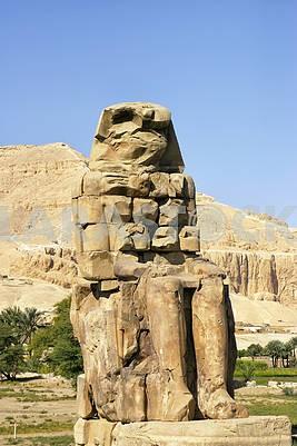 Египет, Луксор, Колосси Мемнон