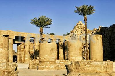 Egypt, Luxore, Colossi Memnon