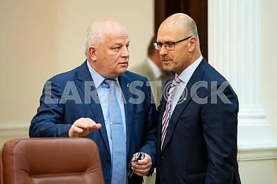 Stepan Kubiv, Danylo Bilak