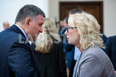 Арсен Аваков, Людмила Денисова