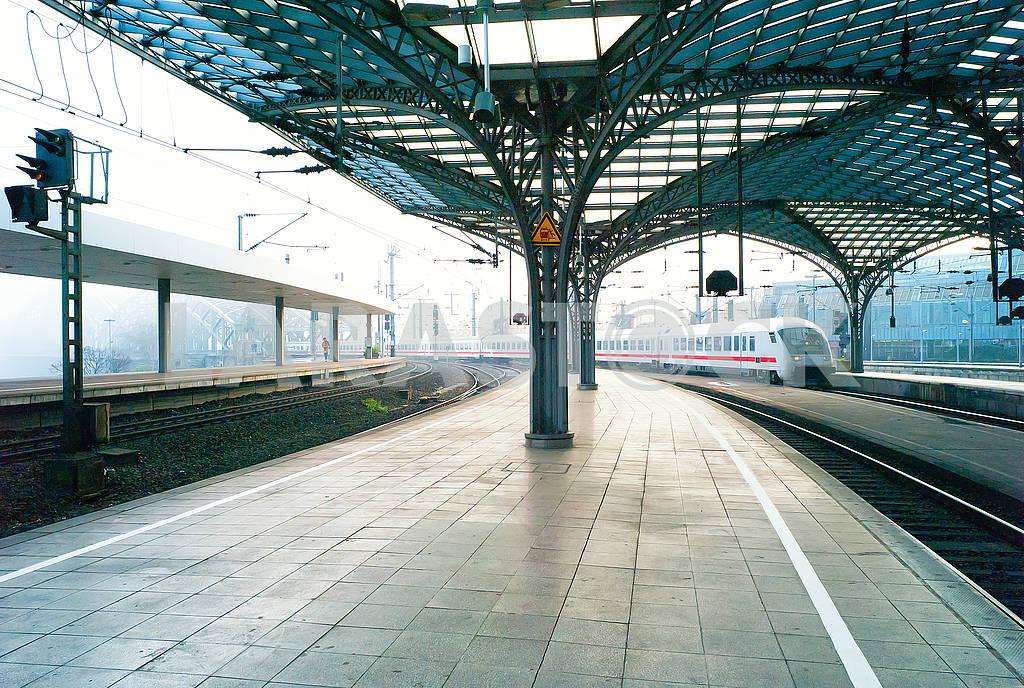 Железнодорожная станция в Германии — Изображение 73983