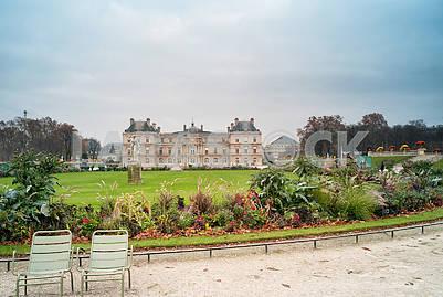 Luxembourg Gardens, Parisv