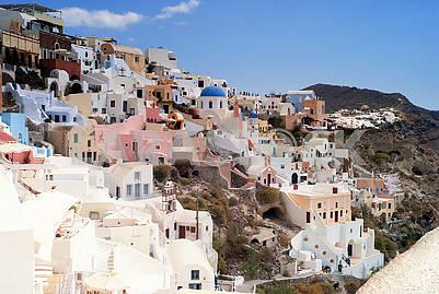 Crete, Santorini, Oia