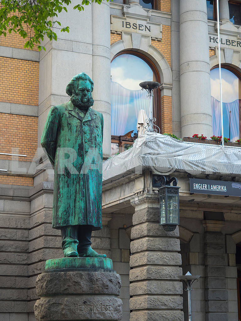 Памятник Генрику Ибсену — Изображение 74132