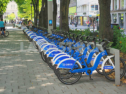 Bicycle parking in Oslo