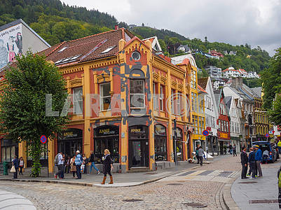Street in Bergen