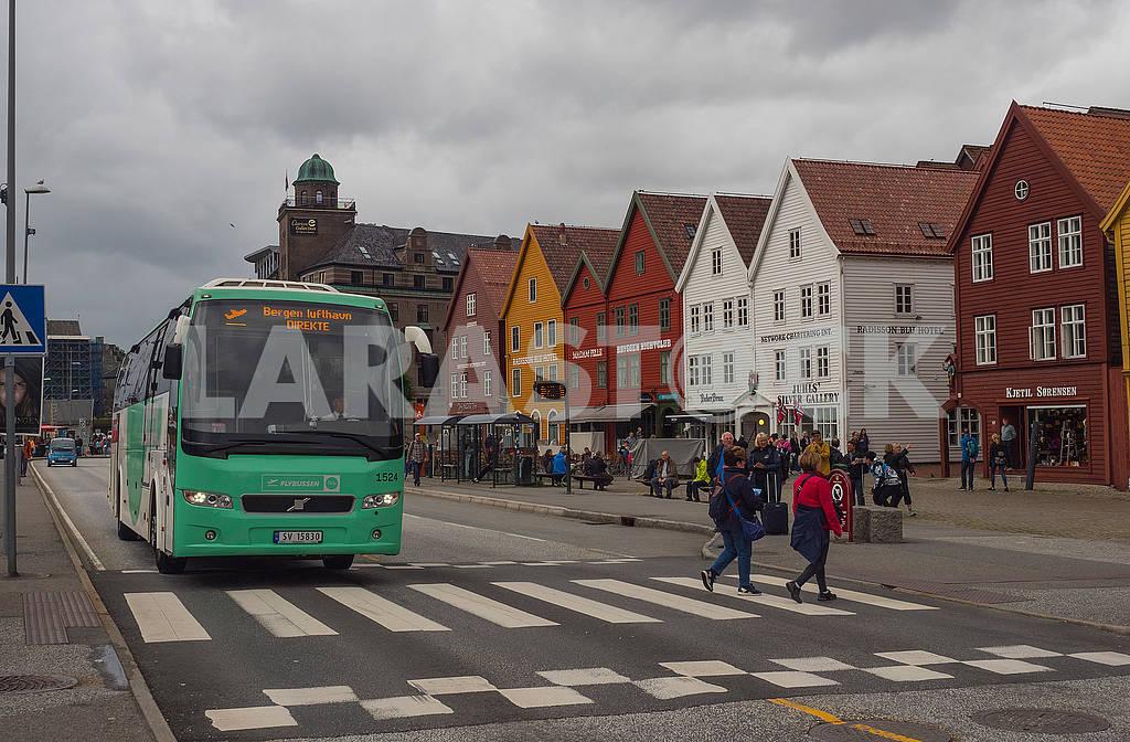 Автобус в Бергене — Изображение 74248