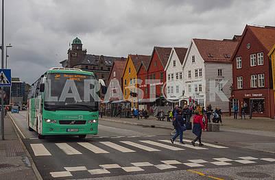 Автобус в Бергене