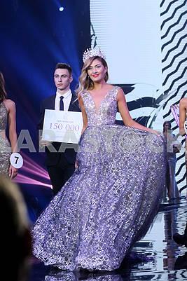 """Обладательница титула """"Мисс Украина Земля -2017"""" Диана Мироненко"""
