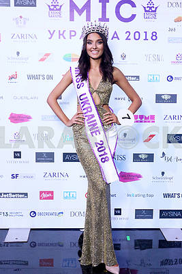 """23-year-old """"Miss Ukraine-2018"""" Veronica Didusenko was disqualified from the competition"""