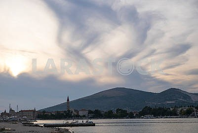 Evening landscape in Trogir