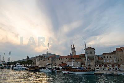 Quay in Trogir