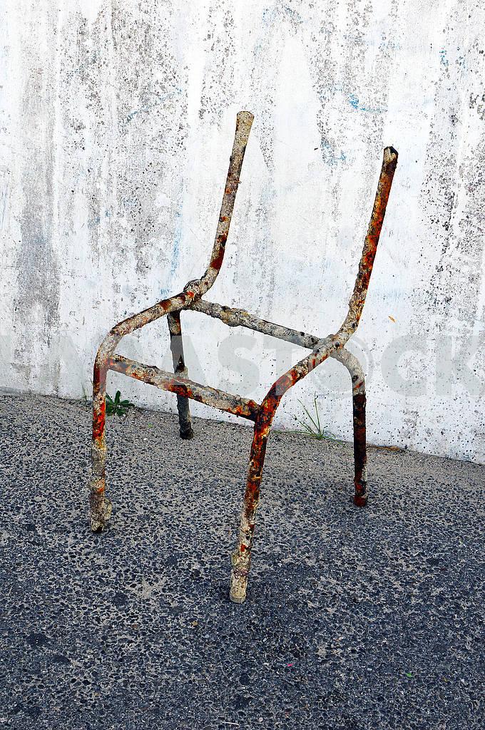 Металевий каркас старого крісла — Изображение 74606