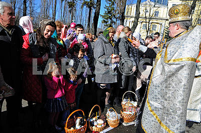 Consecration of the Easter baskets
