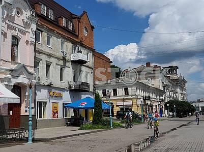 Voskresenskaya Street in Sumy