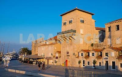 Old town in Trogir