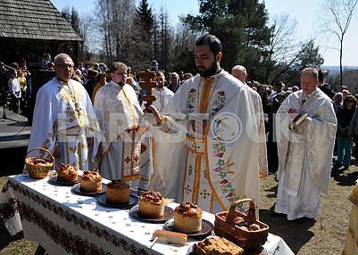 Священники на празднике