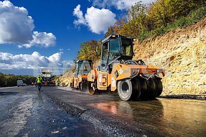 Строительство дороги Н 03