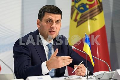 Prime Minister of Ukraine Volodymyr Groysman