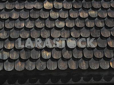 Деревянная крыша в Скансене