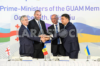 Prime Ministers of GUAM countries
