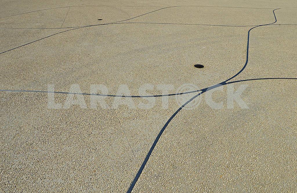 Цементна поверхня на міській площі — Изображение 74884