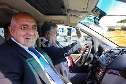 Petro Poroshenko and Boyko Borisov