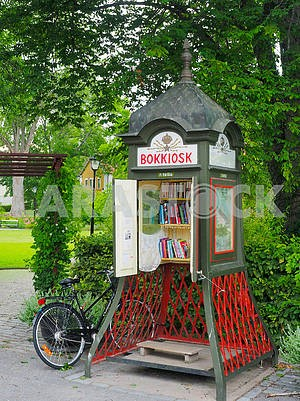 Bookcrossing stand