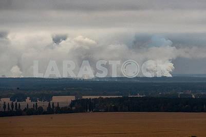 Взрывы на территории военного арсенала