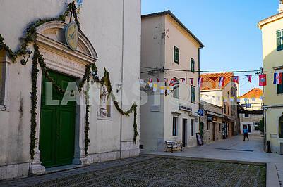 Small street in Skradin