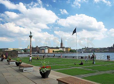Монумент Энгельбректу  в Стокгольме